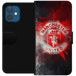 Apple iPhone 12 Wallet Case Manchester United FC