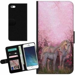 Apple iPhone 5 / 5s / SE Billigt Fodral Unicorn
