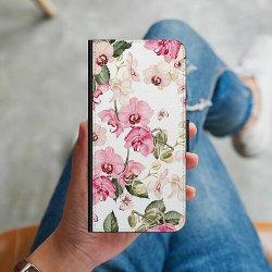 Apple iPhone 5 / 5s / SE Plånboksskal Blommor