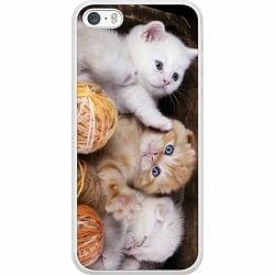 Apple iPhone 5 / 5s / SE Soft Case (Frostad) Katter