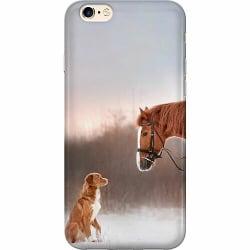 Apple iPhone 6 / 6S Mjukt skal - Häst & Hund