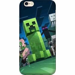 Apple iPhone 6 / 6S Mjukt skal - MineCraft