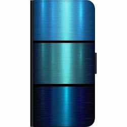 Apple iPhone 11 Pro Max Fodralväska Blue Metallic Stripes