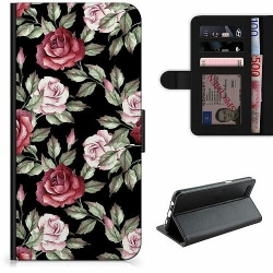 Huawei Honor 10 Lyxigt Fodral Blommor