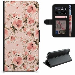 Huawei P40 Lite E Lyxigt Fodral Blommor
