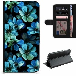 Huawei P Smart (2018) Lyxigt Fodral Blommor
