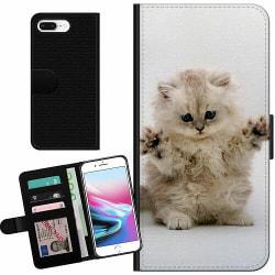 Apple iPhone 7 Plus Billigt Fodral Katt