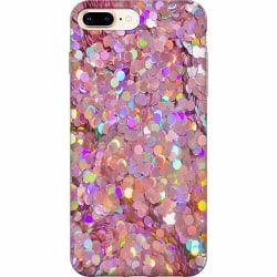 Apple iPhone 7 Plus Mjukt skal - Glitter