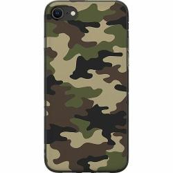 Apple iPhone 8 Mjukt skal - Woodland Camo