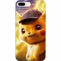 Apple iPhone 7 Plus Mjukt skal - Detective Pikachu - Pikachu