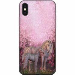 Apple iPhone X / XS Mjukt skal - Unicorn