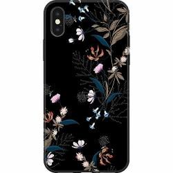 Apple iPhone X / XS Mjukt skal - Blommor