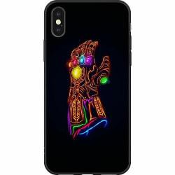 Apple iPhone X / XS Mjukt skal - Fortnite Thanos