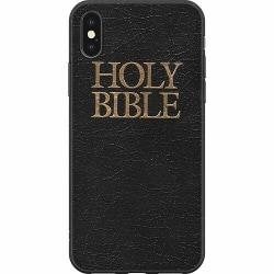 Apple iPhone X / XS Mjukt skal - Holy Bible