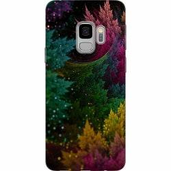 Samsung Galaxy S9 Thin Case Pixel Forest