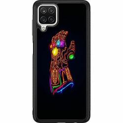 Samsung Galaxy A12 Soft Case (Svart) Fortnite Thanos