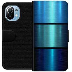Xiaomi Mi 11 Wallet Case Blå