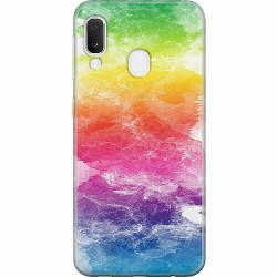 Samsung Galaxy A20e Thin Case Watercolor Fade