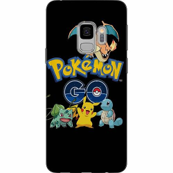 Samsung Galaxy S9 Mjukt skal - Pokemon