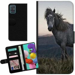 Samsung Galaxy A51 Billigt Fodral Häst / Horse