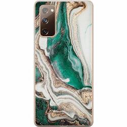 Samsung Galaxy S20 FE Mjukt skal - Grön
