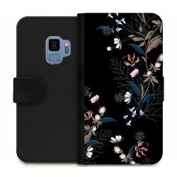 Samsung Galaxy S9 Wallet Case Blommor