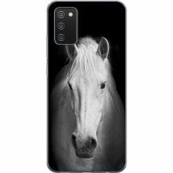 Samsung Galaxy A02s Mjukt skal - Vit Häst
