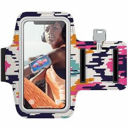 Sony Xperia E4 Träningsarmband / Sportarmband -  Pattern