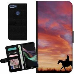 Huawei P Smart (2018) Billigt Fodral Häst / Horse