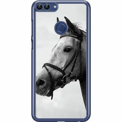 Huawei P Smart (2018) Hard Case (Transparent) Häst