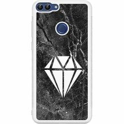 Huawei P Smart (2018) Soft Case (Vit) Diamond