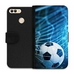 Huawei P Smart (2018) Wallet Case Fotboll