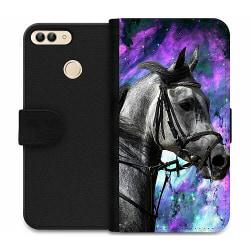 Huawei P Smart (2018) Wallet Case Häst