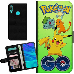 Huawei P Smart (2019) Billigt Fodral Pokemon