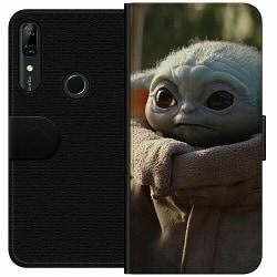 Huawei P Smart Z Wallet Case Baby Yoda