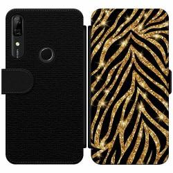 Huawei P Smart Z Wallet Slim Case Gold & Glitter