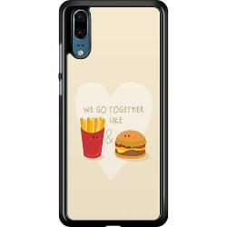 Huawei P20 Hard Case (Svart) Together