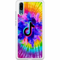 Huawei P20 Hard Case (Vit) TikTok
