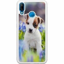 Huawei P20 Lite Soft Case (Vit) Hund