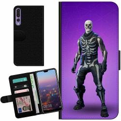 Huawei P20 Pro Billigt Fodral Fortnite Skull Trooper