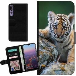 Huawei P20 Pro Billigt Fodral Tiger