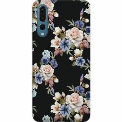 Huawei P20 Pro Mjukt skal - Floral