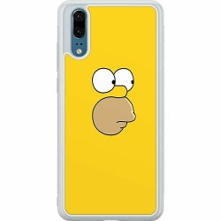 Huawei P20 Soft Case (Frostad) Homer Simpson