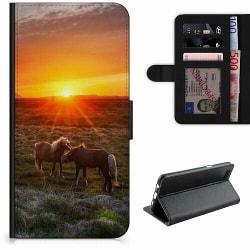OnePlus 7T Pro Lyxigt Fodral Häst / Horse