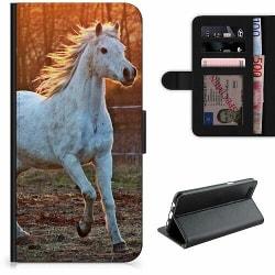 Samsung Galaxy A50 Lyxigt Fodral Häst / Horse