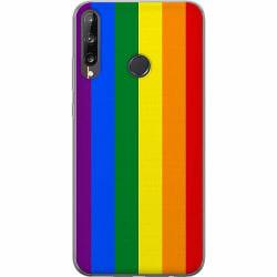 Huawei P40 Lite E Mjukt skal - Pride Flagga