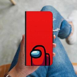 Samsung Galaxy A50 Plånboksskal Among Us