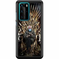 Huawei P40 Pro Hard Case (Svart) Bernie Sanders Meme