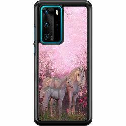 Huawei P40 Pro Hard Case (Svart) Unicorn