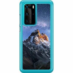 Huawei P40 Pro Hard Case (Transparent) Mountains